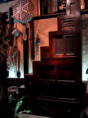 明治時代京都階段箪笥